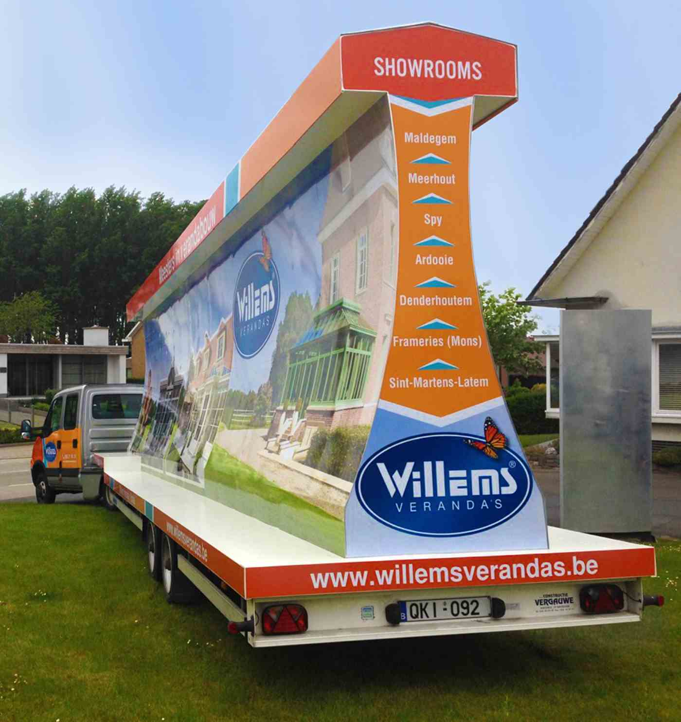 Willems publitrailer rear view