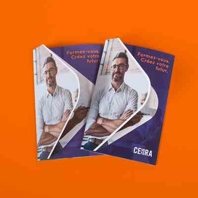 Cevora hand-out beurs cover