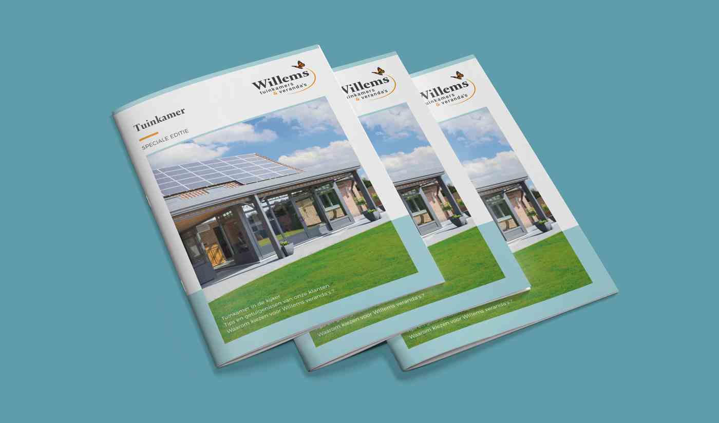 Willems tuinkamers & veranda's brochure extension de maison cover