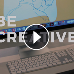 Preview video 'Be creative' met playbutton